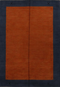 Modern 6x8 Gabbeh Indian Oriental Area Rug