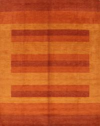 Striped Gabbeh Oriental Area Rug 8x10