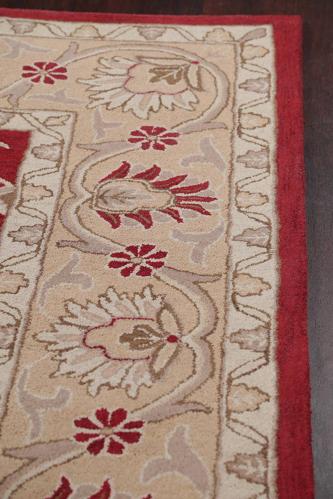 Hand-Tufted Square Agra Oriental Area Rug 12x12