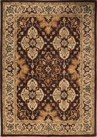 Hand-Tufted Floral Oushak Oriental Area Rug 12x16