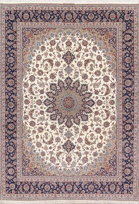Masterpiece 10x14 Isfahan Persian Area Rug
