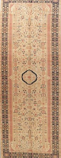 7x19 Oushak Turkish Oriental Area Rug