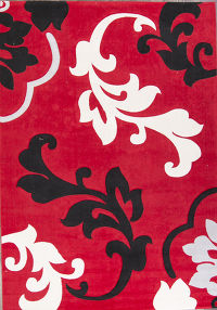Transitional Floral Persian Area Rug 8x11