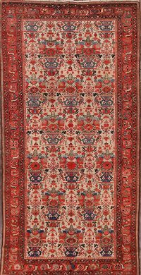 5x10 Malayer Hamadan Persian Area Rug
