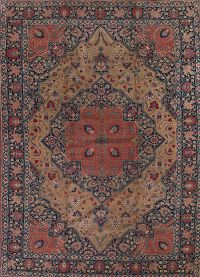 Antique 12x16 Tabriz Persian Area Rug