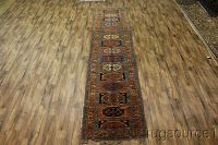 Antique 4x16 Caucasian Russian Runner