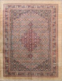 Geometric 11x14 Tabriz Persian Area Rug
