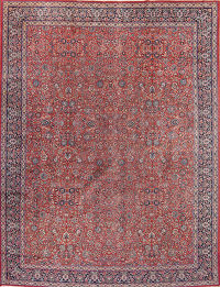 Antique 11x14 Tabriz Persian Area Rug