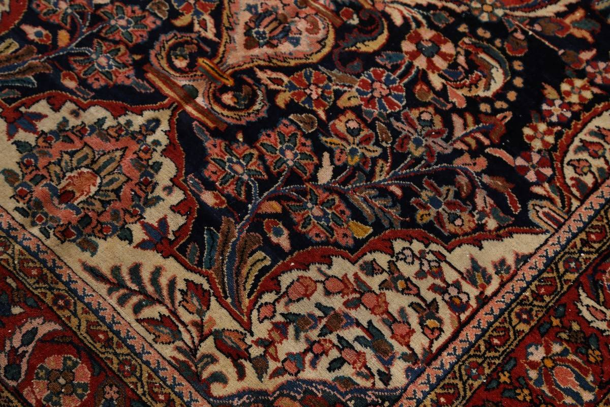 5x6 Malayer Hamedan Persian Area Rug