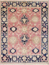 All-Over Pattern 8x11 Oushak Turkish Oriental Area Rug