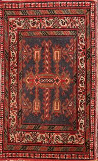 Geometric Tribal 2x3 Meshkin Persian Area Rug
