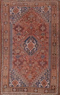 5x8 Abadeh Persian Area Rug