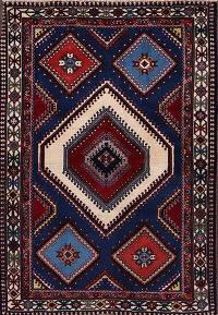 South-west Design 4x5 Yalameh Persian Area Rug