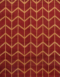 10x14 Red/Gold Moroccan Oriental Area Rug