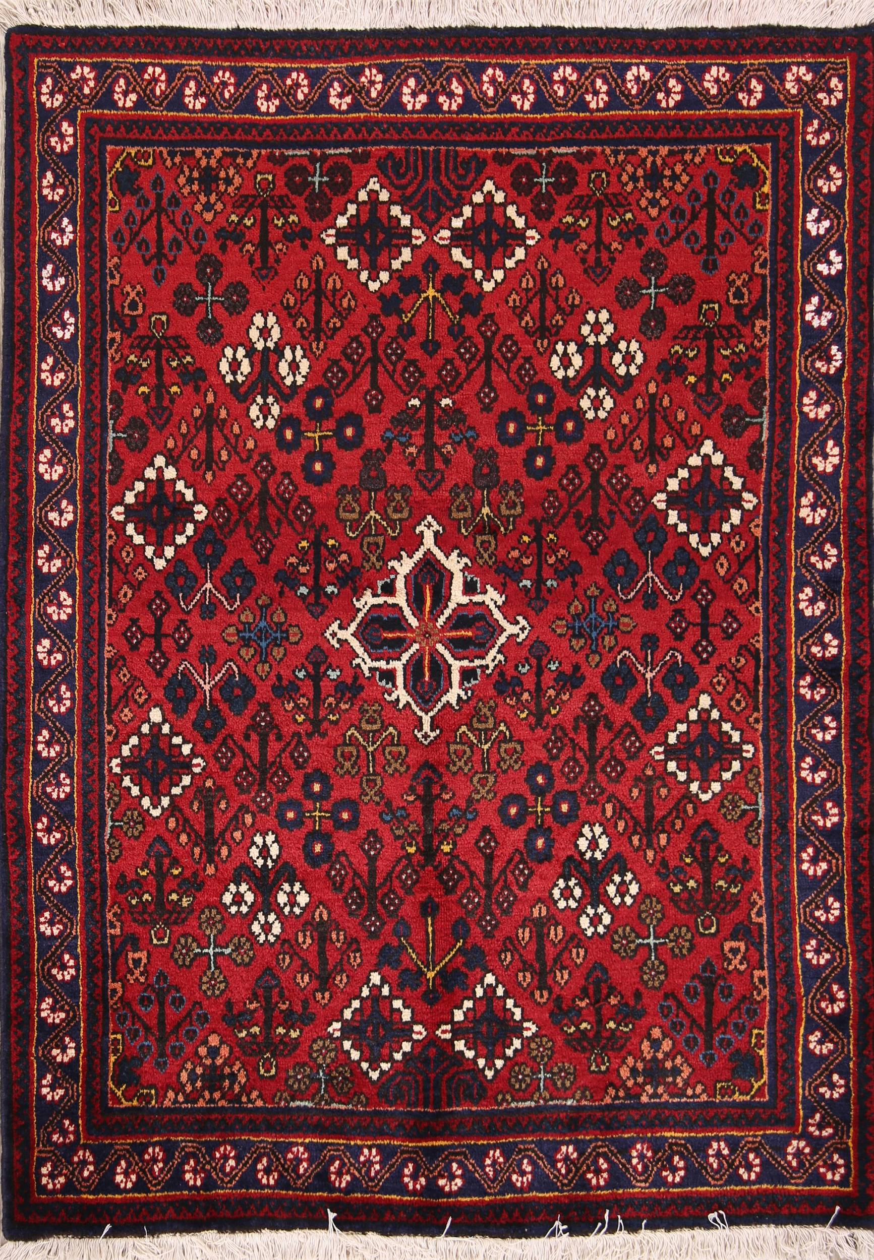 South-west Design 4x5 Joshaghan Persian Area Rug