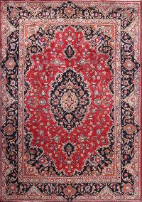 8x11 Mashad Persian Area Rug