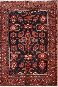 All-Over Floral 4x7 Nanaj Hamedan Persian Area Rug