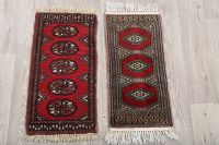 Package Of Two 1x2 Bokhara Pakistan Oriental Area Rug