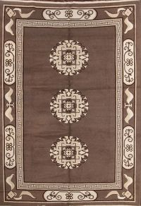 7x10 Kazak Indian Oriental Area Rug