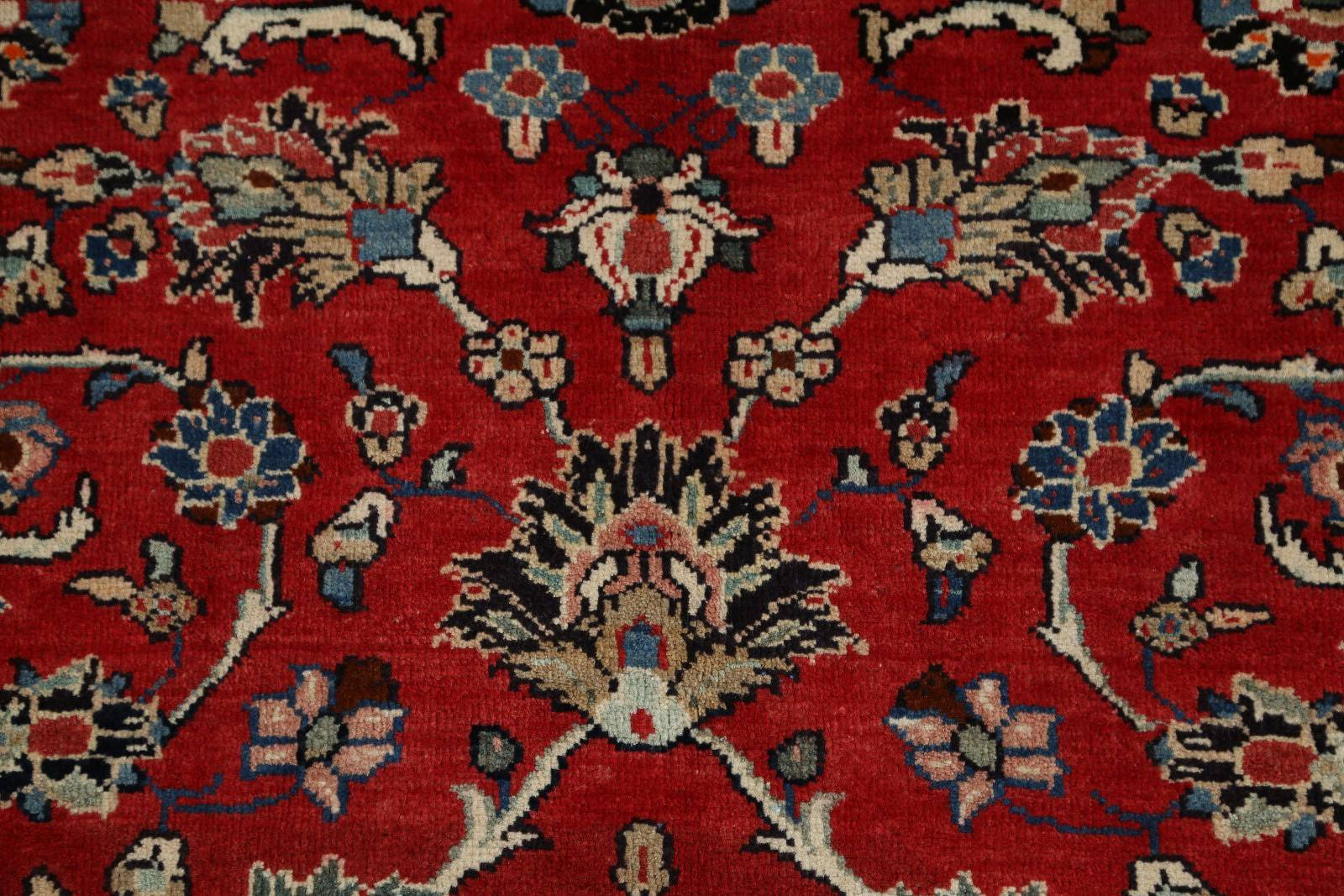 All Over-Floral 7x10 Sarouk Persian Area Rug