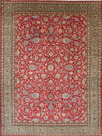 Vegetable Dye New 10x14 Qum Qom Persian Area Rug
