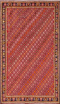 Vegetable Dye 5x8 Kashkoli Shiraz Persian Area Rug