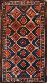 5x8 Gashgahei Shiraz Persian Area Rug