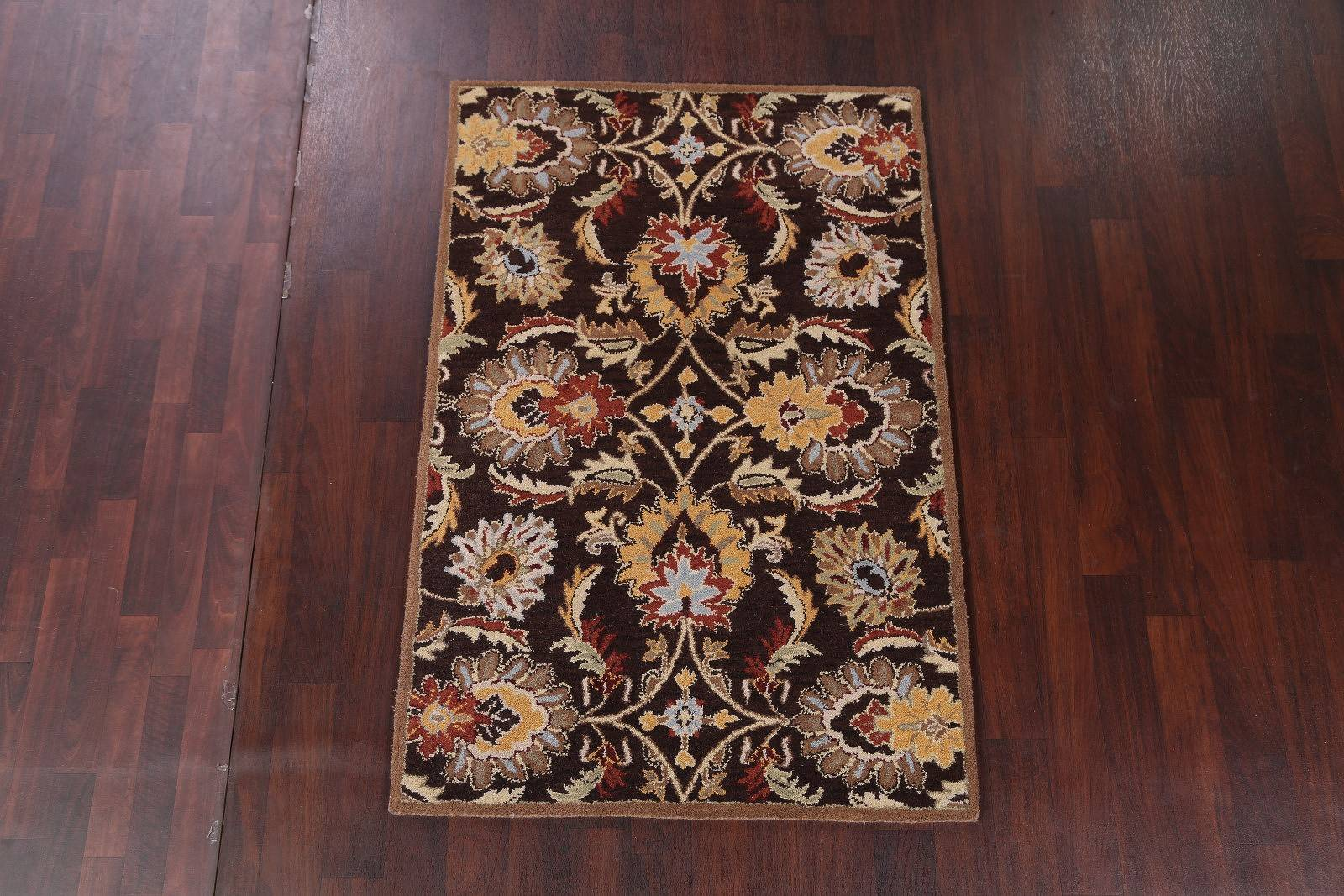 Hand-tufted Contemporary Abstract Oriental Rug
