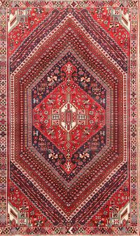 Tribal Nomad 6x9 Kashkoli Shiraz Persian Area Rug