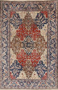 7x10 Tabriz Persian Area Rug