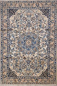 4x6 Nain Persian Area Rug