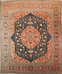 13x16 Tabriz Persian Area Rug