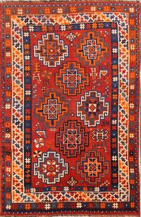 Geometric 5x7 Lori Shiraz Persian Area Rug