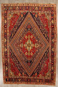 7x11 Kashkoli Shiraz Persian Area Rug