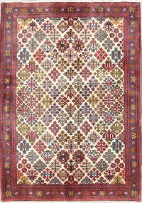 4x5 Meymeh Abadeh Persian Area Rug