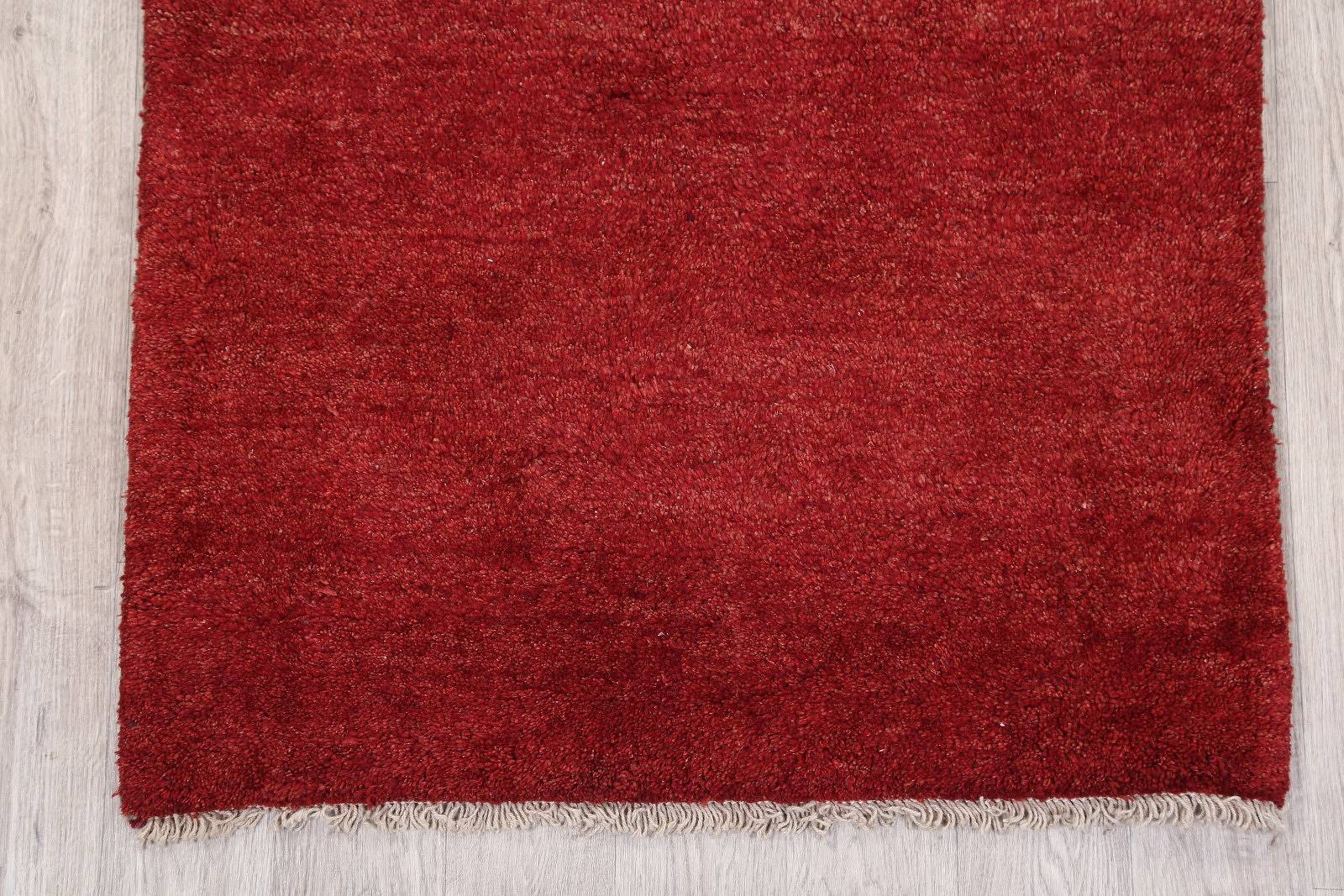 Soft Plush Thick Pile 3x5 Gabbeh Shiraz Persian Area Rug