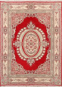 Soft Plush 10×13 Kerman Machine Made Persian Area Rug