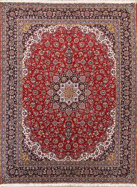 Soft Plush 10×13 Kashan Machine Made Persian Area Rug