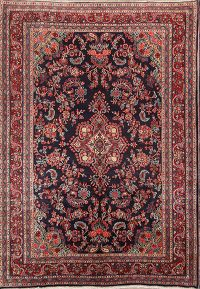 7x10 Shahbaft Hamadan Persian Area Rug