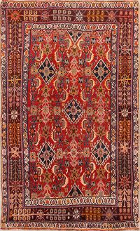 4x6 Kashkoli Shiraz Persian Area Rug