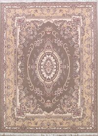 Soft Plush Traditional 10x13 Tabriz Persian Area Rug