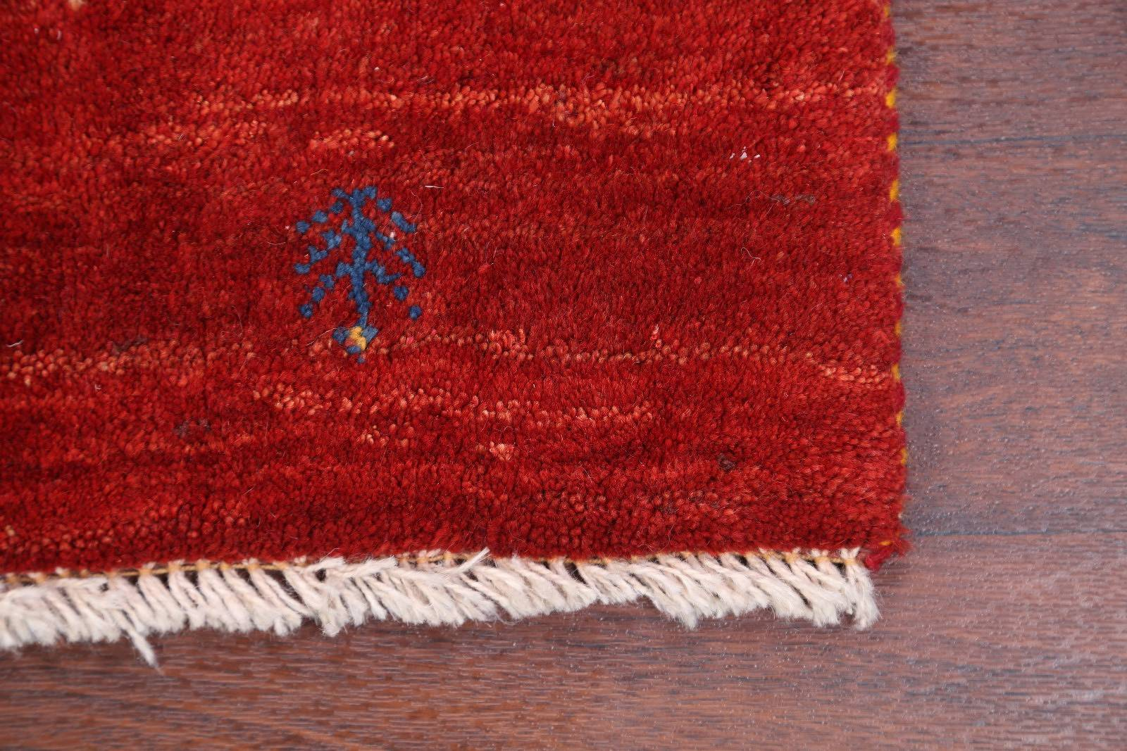 Little Animal Tribal Nomad 3x5 Gabbeh Shiraz Persian Area Rug