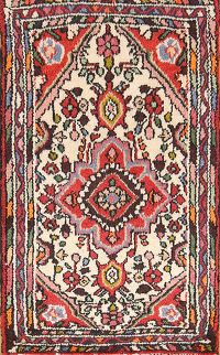 Floral Ivory 2x3 Lilian Hamedan Persian Area Rug