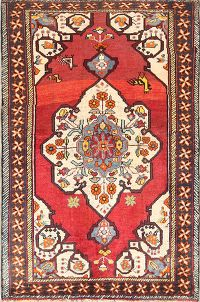Geometric 4x6 Oushak Turkish Oriental Area Rug