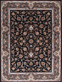 All-Over Floral 10x13 Tabriz Persian Area Rug