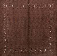 Contemporary 10x10 Gabbeh Indian Oriental Area Rug