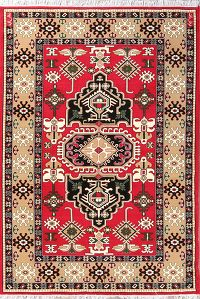 Geometric 7x10 Kazak Persian Area Rug