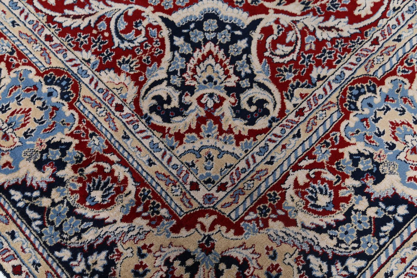 Soft Plush Floral 10x12 Kashan Persian Area Rug