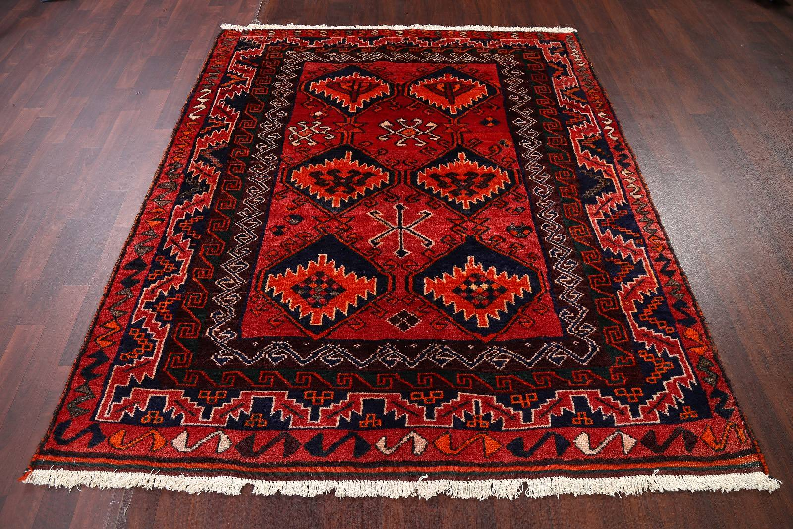 Geometric 6x7 Lori Shiraz Persian Area Rug