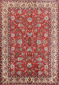 Floral 7x10 Isfahan Persian Area Rug
